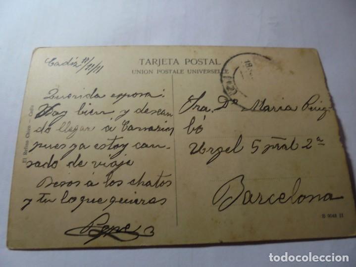 Postales: magnifica antigua postal de cadiz plaza de la constitucion - Foto 4 - 247779340