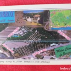 Postales: CAMPING CORTIJO EL PINO TORROX, MÁLAGA. SIN CIRCULAR.. Lote 251032795