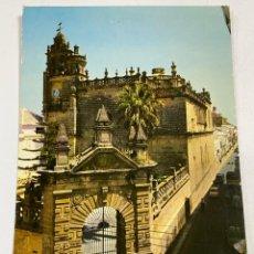 Postales: TARJETA POSTAL. CÁDIZ. 2009.- SALUCAR DE BARRAMEDA. EXTERIOR DE LA PARROQUIA DE SANTO. ED. ARRIBAS. Lote 253917750