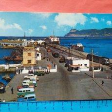 Postales: ALGECIRAS - CADIZ ( COCHES DE LA EPOCA - FURGONETAS, LAND ROVE, TREN ) / ( NOV2021CONF). Lote 254057470