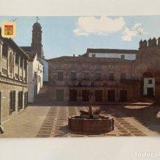 Postales: TARJETA POSTAL. JAÉN. Nº 5.- BAEZA. PLAZA DE LOS LEONES. A. SUBIRATS CASANOVAS. Lote 254071010