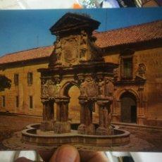 Postales: POSTAL BAEZA JAÉN FUENTE DE SANTA MARÍA N 18 SUBIRATS CASANOVAS S/C. Lote 254075445