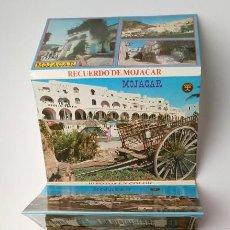 Postales: LIBRO ACORDEON DE POSTALES DE MOJACAR ALMERIA 1985 NUEVO. Lote 254101835