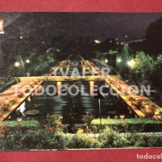 Postales: POSTAL CORDOBA, JARDINES ILUMINADOS ALCAZAR REYES CRISTIANOS. Lote 254458275