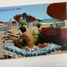 Cartes Postales: TARJETA POSTAL. ALMERÍA. 165.- ROQUETAS DE MAR. PLAYA.. Lote 254809615