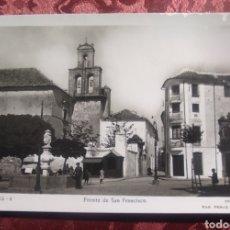 Postales: LUCENA FUENTE SAN FRANCISCO AÑO 1945. Lote 254844765