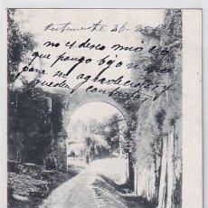 Postales: GRANADA ACUEDUCTO DE LA ALHAMBRA. REVERSO SIN DIVIDIR. CIRCULADA. Lote 254970785