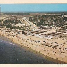 Cartes Postales: POSTAL VISTA AEREA PLAYA DE MAZAGON. HUELVA (1967). Lote 256079775