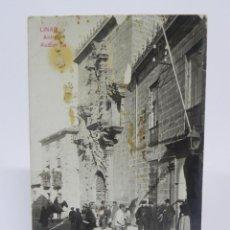 Postales: FOTO POSTAL DE LINARES, JAEN, ANTIGUA AUDIENCIA, COLECCION A. MARTIN, NO CIRCULADA.. Lote 257329700