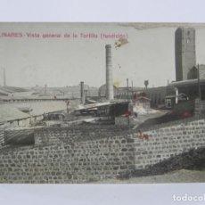 Postales: FOTO POSTAL DE LINARES, JAEN, VISTA GENERAL DE LA TORTILLA (FUNDICION), COLECCION A. MARTIN, NO CIRC. Lote 257330045