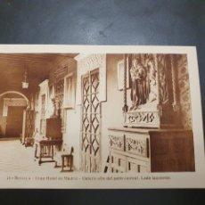 Postales: POSTAL GRAN HOTEL DE MADRID SEVILLA. Lote 257333495