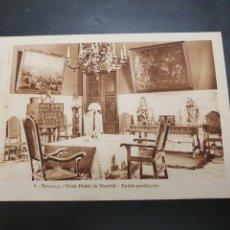 Postales: POSTAL GRAN HOTEL MADRID SEVILLA. Lote 257333580