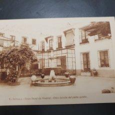Postales: POSTAL GRAN HOTEL DE MADRID. Lote 257333680