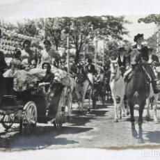 Postales: POSTAL SEVILLA, FERIA DE SEVILLA EN EL REAL, 1961. Lote 258878670