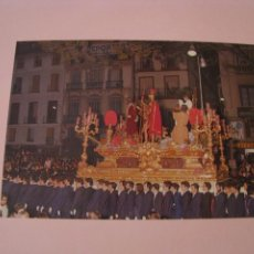 Cartoline: POSTAL DE SEMANA SANTA DE MALAGA. JESUS DE LA SENTENCIA. PARROQUIA DE SANTIAGO, MALAGA.. Lote 260377640
