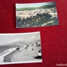 Postales: LOTE DE 2 POSTALES MUY ANTIGUAS DE MOTRIL, VER. Lote 260640030