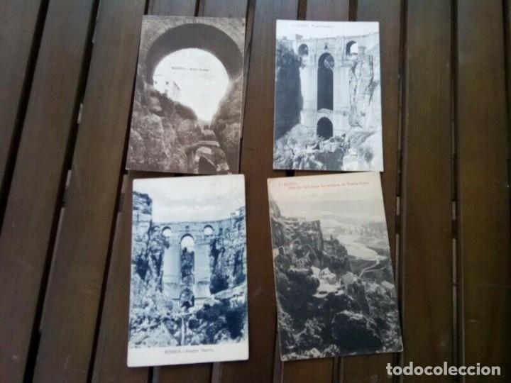 RONDA 4 POSTALES ANTIGUAS Y DIFICILES (Postales - España - Andalucía Antigua (hasta 1939))
