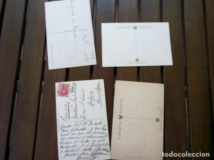 Postales: RONDA 4 POSTALES ANTIGUAS Y DIFICILES - Foto 4 - 260640800
