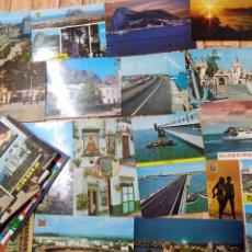 Postales: 90 POSTALES * CÁDIZ Y PROVINCIA & GIBRALTAR * LOTE Nº 29. Lote 260838855