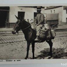 Postales: ANTIGUA POSTAL DE SEVILLA - VENDEDOR DE LECHE - NO CIRCULADA - EN PERFECTO ESTADO - L. ROISIN -. Lote 261158265