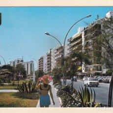 Postales: POSTAL JARDINES DEL PASEO MARITIMO. FUENGIROLA. MALAGA (1970) - COSTA DEL SOL. Lote 261294545