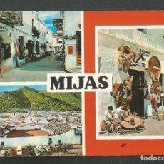 Postales: POSTAL SIN CIRCULAR MIJAS 1914 EDITA BEASCOA. Lote 261584535