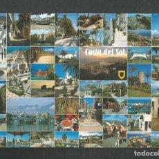 Postales: POSTAL CIRCULADA COSTA DEL SOL 95 EDITA ESCUDO DE ORO. Lote 261585290