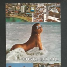 Postales: POSTAL CIRCULADA COSTA DEL SOL 30 EDITA ESCUDO DE ORO. Lote 261586075