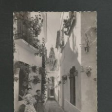 Postales: POSTAL SIN CIRCULAR CORDOBA 36 CALLE DE LAS FLORES EDITA GARCIA GARRABELLA. Lote 261629260