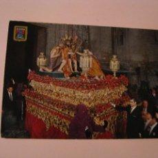 Postales: POSTAL DE SEMANA SANTA DE SEVILLA. DOMINGUEZ. Nº 190. CRISTO DE LA CORONACIÓN DE ESPINAS.. Lote 261630765