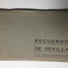 Postales: RECUERDO DE SEVILLA, PUBLICIDAD FARMACIA BESOY , COMPLETA, 10 POSTALES.. Lote 261836810