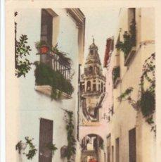 Postales: CORDOBA, VISTA DE LA CALLEJA DE LAS FLORES. ED. ARRIBAS Nº 117. BYN COLOREADA. SIN CIRCULAR. Lote 261836935