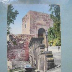 Cartes Postales: ANTIGUA POSTAL GRANADA PUERTA DE JUSTICIA PURGER & CO. Lote 262307080