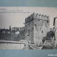 Cartes Postales: ANTIGUA POSTAL GRANADA ALHAMBRA TORRE DE LOS PICOS Y GENERALIFE COLECCIÓN GRANADINA. Lote 262307560