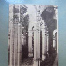Cartes Postales: ANTIGUA POSTAL GRANADA VISTA GENERAL DEL INTERIOR DE LA CATEDRAL SEÑÁN Y GONZÁLEZ. Lote 262313285