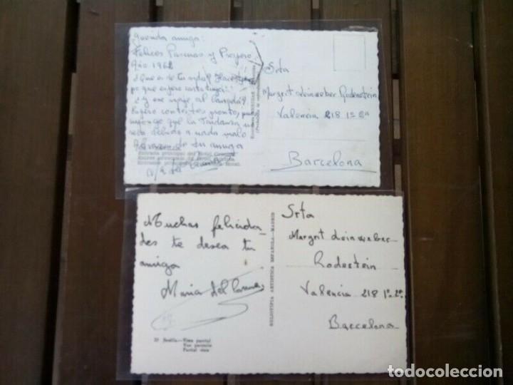 Postales: SEVILLA 2 POSTALES ANTIGUAS PRECIO OFERTA - Foto 3 - 262593935