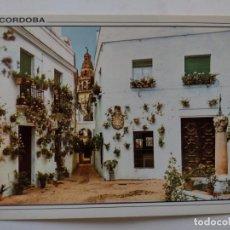 Postales: POSTAL CORDOBA- PATIO DE LA CALLEJA DE LAS FLORES-2126-EDICIONES ARRIBAS EDIVIS. Lote 262607165