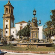Postales: ALGECIRAS: PLAZA ALTA E IGLESIA PARROQUIAL.. Lote 262630150
