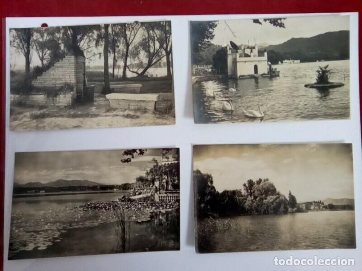 BAÑOLAS LOTE DE 4 POSTALES ANTIGUAS BLANCO Y NEGRO (Postales - España - Andalucía Antigua (hasta 1939))