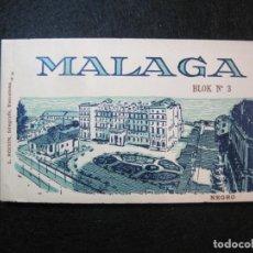 Postales: MALAGA-BLOC CON 20 POSTALES ANTIGUAS-FOTO ROISIN-PROCESION SEMANA SANTA...ETC-VER FOTOS-(80.637). Lote 262939810