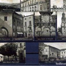 Postales: NUEVE POSTALES MINIATURAS DE JAEN(ESPAÑA)-PROCEDENTES DE ALBUM ESPAÑA AMERICA LATINA .. Lote 263132395
