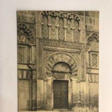 Postales: CORDOBA. POSTAL, MIRAB DE LA FACHADA DE LA CÁTEDRAL, FOTOTIPIA M. GONZALEZ (H.1930?) S/C. Lote 263218895