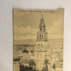 Postales: CORDOBA. POSTAL, PATIO DE LOS NARANJOS Y TORRE DE LA CATEDRAL, FOTOTIPIA M. GONZALEZ (H.1930?). Lote 263218950