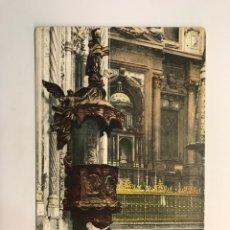 Postales: CORDOBA. POSTAL MEZQUITA. PÚLPITO IZQUIERDA Y ALTAR MAYOR. EDITA. PURGER Y CO. MUNCHEN. (H.1930?). Lote 263599230