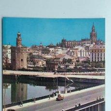 Postales: POSTAL SEVILLA, PUENTE DE SAN TELMO, HELIOTIPIA ARTÍSTICA ESPAÑOLA, Nº 1017. Lote 263622260