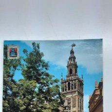 Postales: POSTAL SEVILLA, LA GIRALDA, DOMÍNGUEZ ESCUDO DE ORO Nº 238. Lote 263622265