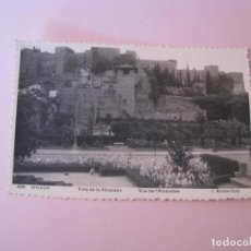 Postales: POSTAL FOTOGRÁFICA DE MALAGA. VISTA DE LA ALCAZABA. L. ROISIN. 606.. Lote 263694605