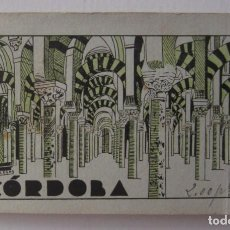 Postales: CÓRDOBA. BLOQUE COMPLETO DE 20 ANTIGUAS POSTALES. GRAFOS MADRID. AÑOS 20. Lote 264303432