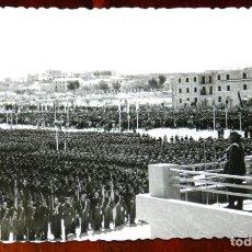 Postales: FOTOGRAFIA DE JAEN, VISITA DEL GENERAL FRANCO, AÑOS 40, FOTO ZEGRI, MADRID, MIDE 11 X 8 CMS.. Lote 264855179