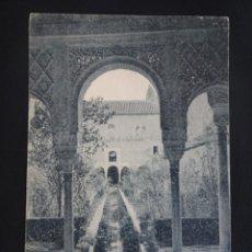 Cartoline: ANTIGUA POSTAL DE GRANADA, GENERALIFE, PATIO DE LA ACEQUIA, VER FOTOS. Lote 266780869